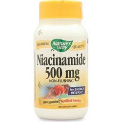Nature's Way Niacinamide (500mg) Non-Flushing 100 caps