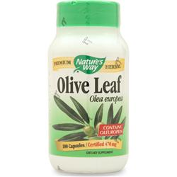 NATURE'S WAY Olive Leaf 100 caps