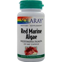 SOLARAY Red Marine Algae (375mg) 100 caps