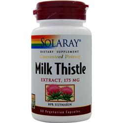 SOLARAY Milk Thistle Extract (175mg) 60 vcaps