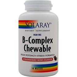 SOLARAY B-Complex Chewable Strawberry-Kiwi 50 wafrs