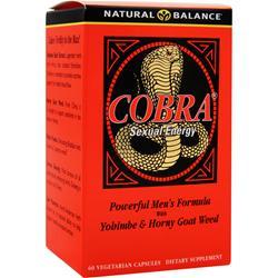 Natural Balance Cobra 60 vcaps