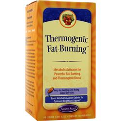 NATURE'S SECRET Thermogenic Fat-Burning 90 sgels