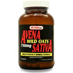 Action Labs Avena Sativa (Wild Oats) 100 tabs