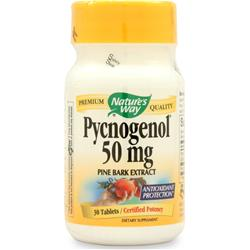 NATURE'S WAY Pycnogenol (50mg) 30 tabs