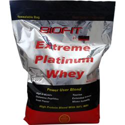BIOPLEX NUTRITION Biofit Extreme Platinum Whey Rich Dutch Chocolate 10 lbs