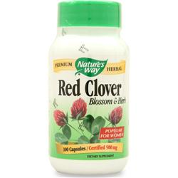 NATURE'S WAY Red Clover Blossom and Herb 100 caps