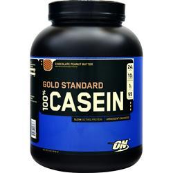 Optimum Nutrition 100% Gold Standard Casein Protein Chocolate Peanut Butter 4 lbs