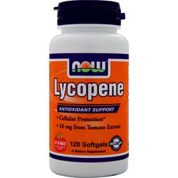 NOW Lycopene (10mg) 120 sgels