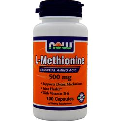 NOW L-Methionine (500mg) 100 caps