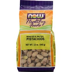 NOW Pistachios (roasted and salted) 12 oz