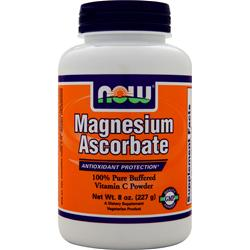 NOW Magnesium Ascorbate (powder) 8 oz