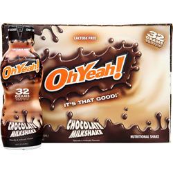 ISS Research Oh Yeah! RTD Chocolate Milkshake 12 bttls