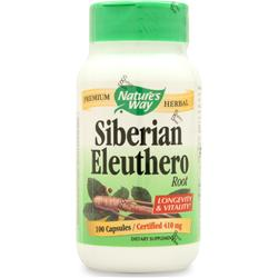 Nature's Way Siberian Eleuthero Root 100 caps