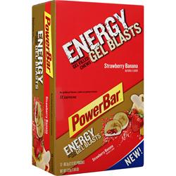 POWERBAR Energy Gel Blasts Strawberry Banana 12 pckts