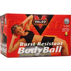 VALEO Burst Resistant Body Ball 75 Centimeters - Gray 1 unit