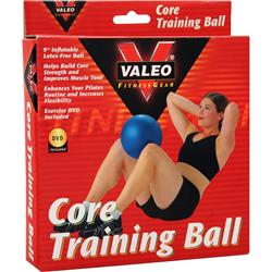 Valeo Core Training Ball with DVD 1 unit