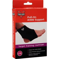 VALEO Pull-On Ankle Support Large/Extra Large 1 unit