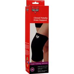 VALEO Closed Patella Knee Support Large 1 unit