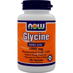 NOW Glycine (1000mg) 100 caps
