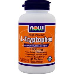 Now L-Tryptophan (1000mg) 60 tabs