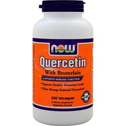 NOW Quercetin with Bromelain 240 vcaps