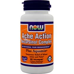 NOW Ache Action Decursinol Complex 60 vcaps