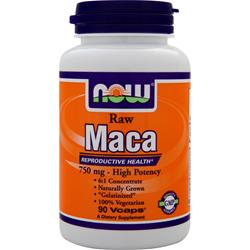 Now Raw Maca (750mg) 90 vcaps