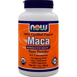 NOW Organic Maca Pure Powder 7 oz