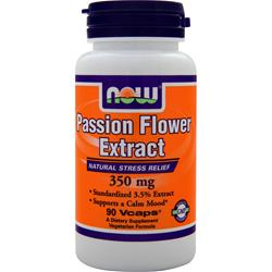 NOW Passion Flower Extract (350mg) 90 vcaps