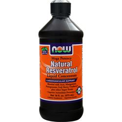 NOW Natural Resveratrol Liquid Concentrate 16 fl.oz