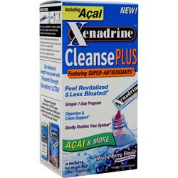 CYTOGENIX Xenadrine Cleanse Plus Mixed Berry 14 pckts