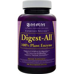 MRM Digest-All  (100% Plant Enzyme) 100 vcaps