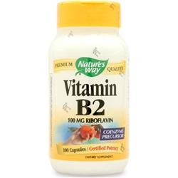 Nature's Way Vitamin B-2 100 caps
