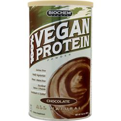 BIOCHEM 100% Vegan Protein Chocolate 16.2 oz