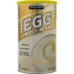 BIOCHEM 100% Egg Protein Vanilla 14.7 oz