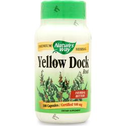 Nature's Way Yellow Dock Root 100 caps