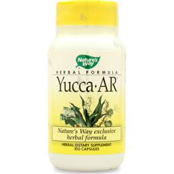 Nature's Way Yucca-AR 100 caps