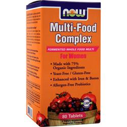 NOW Multi-Food Complex For Women 80 tabs