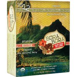 BORA BORA Bora Bora Bar Island Brazil Nut Almond 12 bars