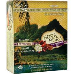 Bora Bora Bora Bora Bar Wild Pomgrante Pecan 12 bars