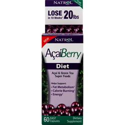 Natrol AcaiBerry Diet 60 caps
