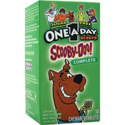 Bayer Healthcare ONE A DAY Kids Scooby-Doo Complete 50 tabs