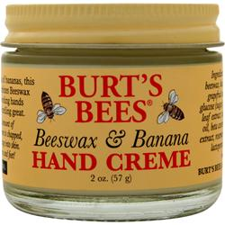 BURT'S BEES Beeswax Hand Creme Banana 2 oz