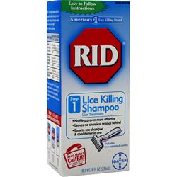 BAYER HEALTHCARE RID Lice Killing Shampoo 8 fl.oz