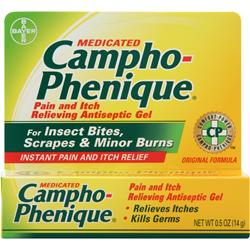 BAYER HEALTHCARE Campho-Phenique Gel .5 oz