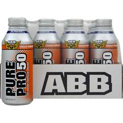 American Bodybuilding Pure Pro 50 RTD (14.5 fl.oz) Chocolate Peanut Butter 12 cans