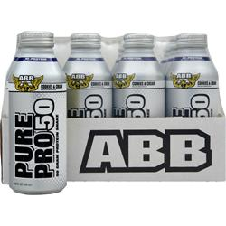 American Bodybuilding Pure Pro 50 RTD (14.5 fl.oz) Cookies and Cream 12 cans