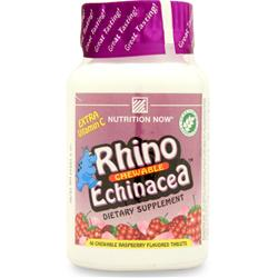 NUTRITION NOW Rhino Echinacea Raspberry - Chewable 60 tabs