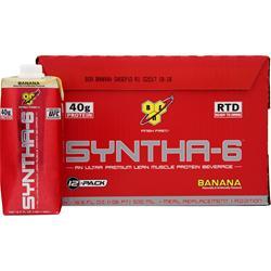 BSN Syntha-6 RTD Banana (16.9 fl. oz.) 12 bttls